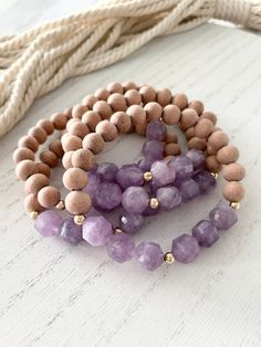 Boho Rustic Beachy Czech Glass Premium Bead and Amethyst Multicolor Necklace on Copper Link Chain