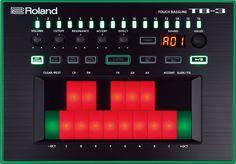 TB-3 (Touch Bassline) | Roland U.S.