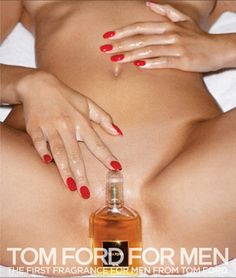 Another Inartful (not a word, SHOULD BE) Tom Ford ad, this one from 2007, was banned everywhere. Shot by the inartful deviant Terry Richards...