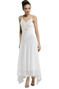 Vogue Bridal Simple Sexy Strap Chiffon Beach Wedding Dress/Evening Dress Vogue Bridal http://www.amazon.com/dp/B00I1UDLES/ref=cm_sw_r_pi_dp_YYG4tb1G9H5C0