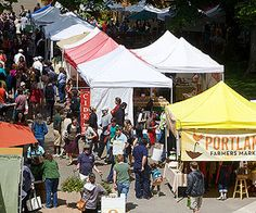 10 Things to Do with Kids In Portland, Oregon: 4 Visit the Farmers' Markets (via Parents.com)