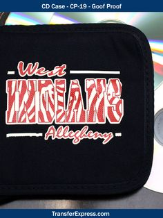 CD cases are great to customize with screen printed heat transfers. This case is made of cotton, so Goof Proof screen printed plastisol ink heat transfers are the perfect customization choice! TransferExpress.com