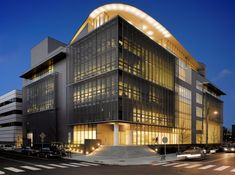 MIT Media Lab Cambridge, Massachusetts designed by Fumihiko Maki.