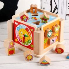Toys & Hobbies Candid 3d New Puzzle Wooden Colorful Toy Jigsaw Cartoon Animal Cars Fruit Fish Puzzle Intelligence Kids Educational For Children Toys