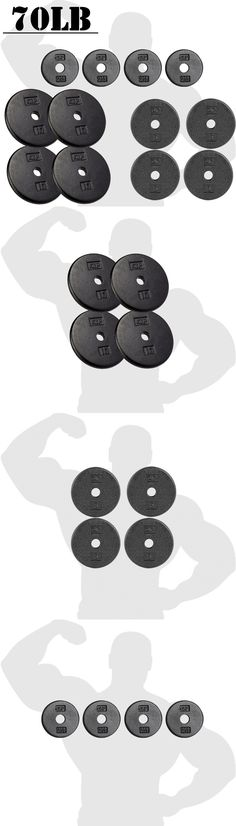 Weight Plates 179817 Olympic Weight Plates Set Pair 45 Pound 90 Lb Lifting Equipment For 2 Inch Bar -u003e BUY IT NOW ONLY $82.9 on eBay!  sc 1 st  Pinterest & Weight Plates 179817: Olympic Weight Plates Set Pair 45 Pound 90 Lb ...