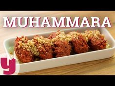 Muhammara Tarifi (Kızarmış Ekmek Mest!) | Yemek.com - YouTube Turkish Recipes, Meatloaf, Starters, Banana Bread, Pavlova, Diet, Cookies, Breakfast, Health