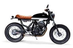 Twisted 250 by Lucca Customs   Garagem Cafe Racer #honda #bratstyle   caferacerpasion.com