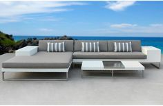 China All weather outdoor rattan sofa set with UV-proof, Find details about China Patio Furniture, Rattan Sofa from All weather outdoor rattan sofa set with UV-proof - Foshan Walden Furniture Co. Outdoor Sofa, Outdoor Living Furniture, Outdoor Living Rooms, Outdoor Dining Chairs, Outdoor Fabric, Sofa Furniture, My Living Room, Modern Furniture, Furniture Design