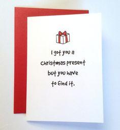 Naughty christmas gift for wife