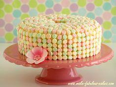 Marshmallow Angel Food Cake : )