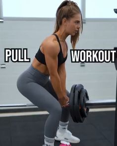 Try this back & biceps pull workout: T-bar row 4 x V grip pulldown 3 x Straight arm cable pulldown 3 x Face pulls 3 x Incline db curl 3 x Cable hammer curls 3 x Back And Bi Workout, Pull Day Workout, Push Workout, Workout Splits, Bar Workout, Gym Workout Videos, Barbell Workout For Women, Bicep Workout Women, Bicep And Tricep Workout