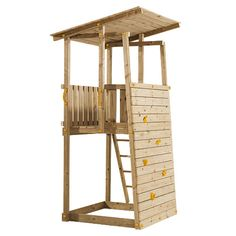 play tower for back corner, needs refinement, but I like the small footprint and idea