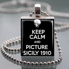 Golden Girls Sophia Petrillo Keep Calm and Picture Sicily 1910. This is awesome!
