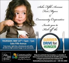 summer drive for hunger 2015