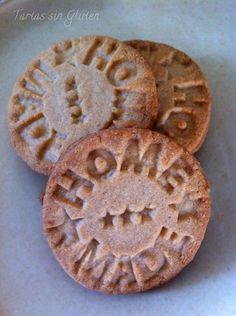 Tartas sin Gluten .....365 dias sin gluten: Hecho en casa!!!! Galletas de Almendra.