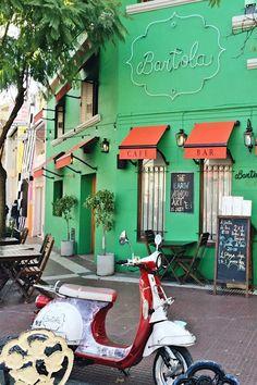 Restaurante Bartola Classic no bairro Palermo Soho em Buenos Aires na Argentina. Ele fica situado na rua Gurruchaga.
