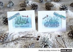Holiday Destinations by Libby Hickson for Hero Arts