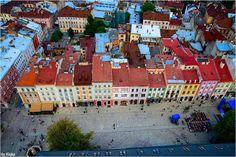 Market Square, Lviv.