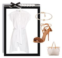 """""""Outfit # 3432"""" by miriam83 ❤ liked on Polyvore featuring Rachel Comey, Aquazzura, Piaget and Louis Vuitton"""