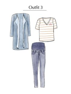 Outfitidee! Frühjahres - Capsule Wardrobe für Schwangere nähen| Rapantinchen Capsule Wardrobe, Shirts, Polyvore, Inspiration, Fashion, Reach In Closet, Sewing Patterns, Outfit Ideas, Blouse