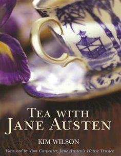 TEA WITH JANE AUSTEN - Begins with Earl Grey at sunrise and ends with calming chamomile in the evening. Each chapter includes a description of tea taking history and lore, recipes, and excerpts from Austen's novels and letters graced with illustrations from the time.