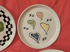 (4) Rare BENNINGTON POTTERS Mid Century Abstract Plates –DAVID GIL–Pop Art-EXC | eBay Bennington Pottery, Pop Art, Decorative Plates, Mid Century, David, Abstract, Tableware, Ebay, Summary