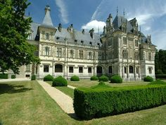 Bourges, Porte Cochere, French Castles, French Architecture, Le Palais, France, Pavilion, Terrace, Spanish