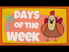 Days of the Week Song | The Singing Walrus - YouTube