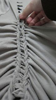 T shirt braiding