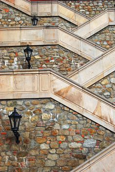 Staircase of Bratislava Castle, Slovakia Places To Travel, Places To Go, Bratislava Slovakia, Wanderlust, Stair Steps, Architecture Details, Staircase Architecture, Beautiful Architecture, Stairway To Heaven
