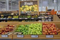 Lovely fresh fruit by J Sainsbury, via Flickr