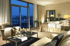 Luxury Suite in at the Carlton Hotel Kinsale Carlton Hotel, Bridal Suite, Luxury Accommodation, Spaces, Bed, Room, Furniture, Home Decor, Bedroom