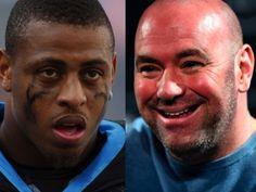 Dana White Could Sign Ex-NFL Star, But Not Like CM Punk - http://www.lowkickmma.com/UFC/dana-white-could-sign-ex-nfl-star-to-ufc-after-he-gains-experience/