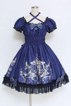 画像1: Enchantlic Enchantilly / Phantom Merry-Go-Roundドレス