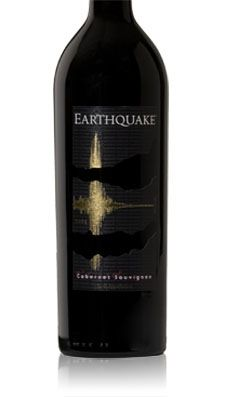My new favorite wine!! 2009 EARTHQUAKE Cab~ A very dark purple colored and opens with an attractive blend of mild blackberry, coffee, cinnamon, and clove like bouquet. On the palate, this wine is full bodied, very nicely balanced, smooth, and elegant. The finish is dry with mild fine tannins.