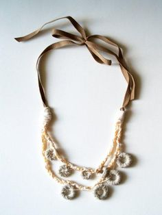 anthro-knockoff necklace #anthropologie knock-off #jewelry #accessories #necklace #make #diy