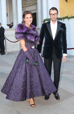 Yeyes heiratet mit seinem Bruder José María Manzanares als Patenonkel in Sevilla - Yeyes heiratet mit seinem Bruder José María Manzanares als Patenonkel in Sevilla - Winter Dresses, Evening Dresses, Formal Dresses, Mother Of The Bride Fashion, Groom Dress, Purple Dress, Couture Fashion, African Fashion, Fashion Dresses