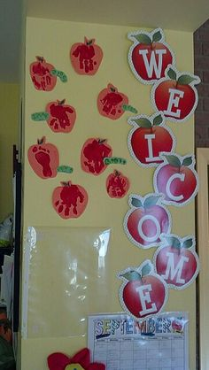 September back to school craft for babies/ toddlers - daycare