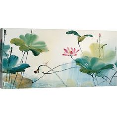 Pondside Canvas Print
