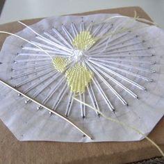 ドイリー〈オリジナル Tenerife, Dorset Buttons, Needle Lace, Irish Crochet, String Art, Hobbies And Crafts, Sewing Hacks, Fiber Art, Hand Embroidery