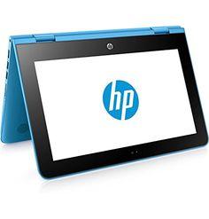 "nice HP x360 11-ab001ns - Ordenador Portátil Convertible de 11.6"" HD (Intel Celeron N3060, 4 GB RAM, HDD 500 GB, Intel HD Graphics 400, Windows 10); Azul Aqua - Teclado QWERTY Español Teclado Qwerty, Windows 10, Amazon Seller, Convertible, Shopping, Laptops, Watch Straps, Tecnologia, Blue"