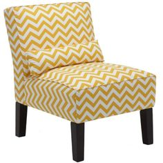 Bailey Accent Chair - Zig Zag ($399) ❤ liked on Polyvore