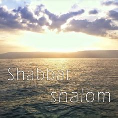 Shabbat Shalom! Have a blessed weekend!