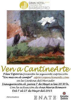 Cartel exposición Pilar Esporrin Sanclemente