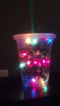 starbucks lampara