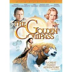 The Golden Compass (DVD, 2008, Widescreen) USED F