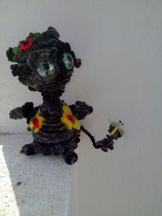Puppe Katze Smokey by olga, $10.00 USD