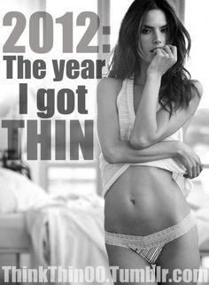 fitness. 2012 the year i got thin. damn straight!