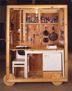 """""""Crate House"""" Kitchen, Allan Wexler"""