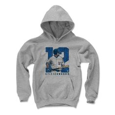 Kyle Schwarber Clutch B Chicago C MLBPA Officially Licensed Youth Hoodie S-XL